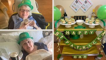 Wigan care home celebrates St Patrick's Day
